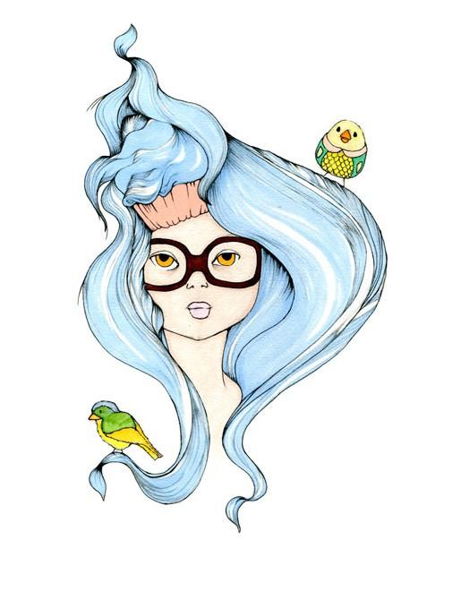 Blue-hair-(A3)